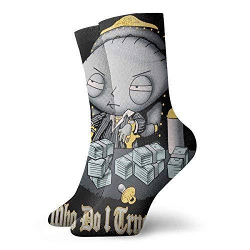 Yuanmeiju calzini lavorati a maglia Soft And Breathable Socks Family Guy Ankle Socks Low Cut Athletic Cushioned Running Tab Socks