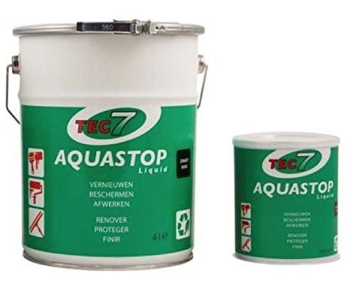 AQUASTOP LIQUID STONES Adesivo impermeabilizzante liquido a base di polimeri MS barattolo da LT.4