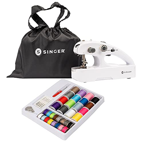 SINGER Stitch Quick + Portable Cordless Mending Machine with Sewing Kit & Storage Bag