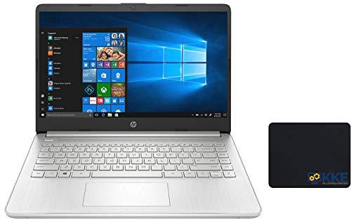 "HP 2020 Notebook Laptop, 14"" Full HD Screen, Intel Core i5-1035G1 Processor up to 3.6GHz, 16GB Memory, 512GB SSD, Webcam, Microphone, WiFi, Bluetooth, Type-C, HDMI, Win 10, Silver, KKE Mousepad"