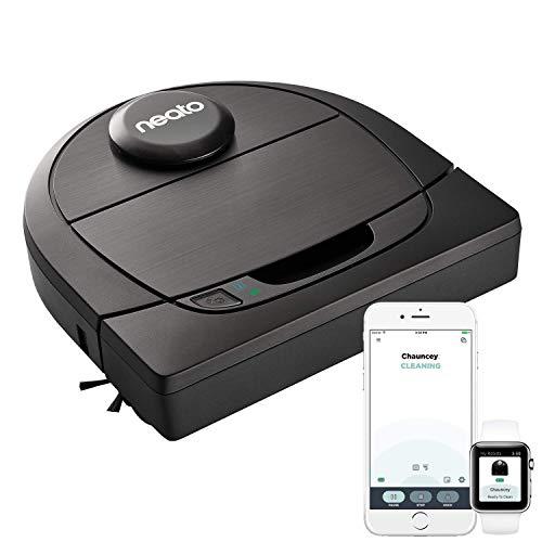 Neato Robotics D602 Connected - aspirador robot con estación de carga, Wi-Fi & App