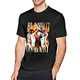 Dababy Blame It On Baby Shirt Men's Short Sleeve Crew Neck T Shirt Summer Casual Tee Tops XXL Black