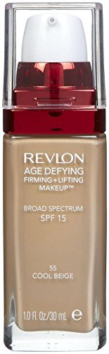 Revlon Age Defying Firming and Lifting Makeup, Cool Beige (packaging may vary)