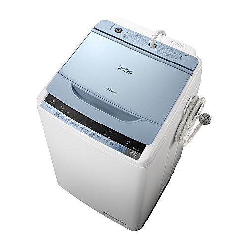 日立 全自動洗濯機 ビートウォッシュ 7kg ブルー BW-V70A A
