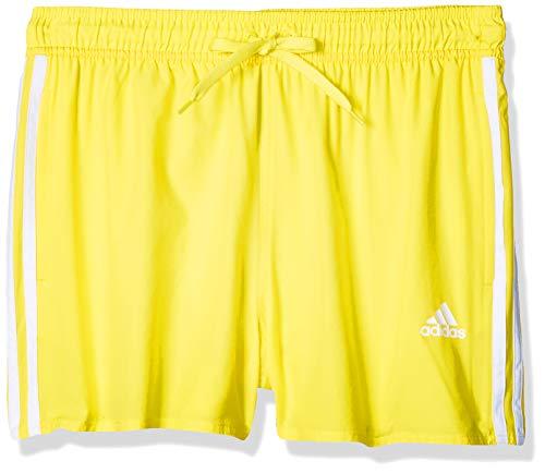 adidas 3s Clx Sh Vsl, Costume da Nuoto Uomo, Shock Yellow, 8