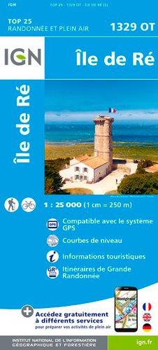 Île de Ré 1 : 25 000