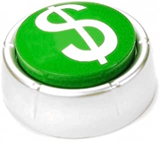 Easy Money Kaching Button - funny gift for entrepreneurs, sales and business people