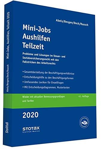 Mini-Jobs, Aushilfen, Teilzeit 2020