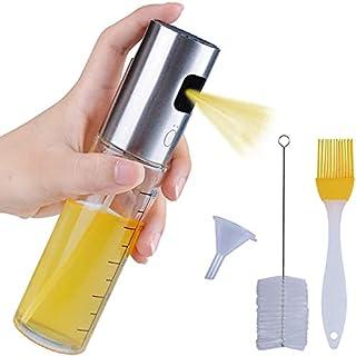 Dailychic Olive Oil Sprayer and Vinegar Soy Sauce Mister Bottle for Kitchen (100ml)