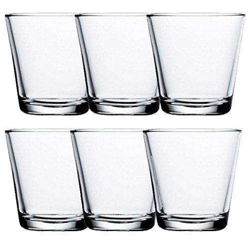 Iittala - Kartio - Trinkgläser, Wassergläser, Saftgläser - Klar - 21 cl - 6er Set
