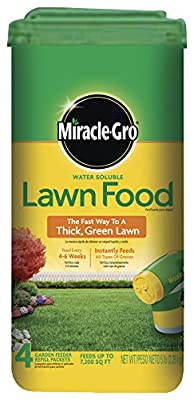 Miracle-GRO Water Soluble Lawn Food, 5 lbs (Not Sold in MD, NJ)