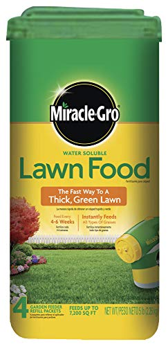 Miracle-Gro Water Soluble Lawn Food, 5 lb.