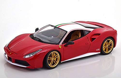 MacDue Italy Ferrari 70th Ann. 488 GTB The Lauda - 1:18