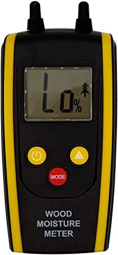 Komerci HT-610 Holzfeuchtemesser mit Temperaturanzeige, Holzfeuchtemessgerät 6 bis 48{0062cf0d90d113d87d7da625d8146ce750dcf5dacec099a4603a4b4e67425b4f}, Holzfeuchtigkeitsmessgerät