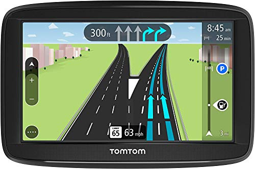 TomTom Via 1625TM 6-Inch GPS Navigation Device with Free Traffic, Free Maps of North America, Advanced Lane Guidance and Spoken Turn-By-Turn Directions