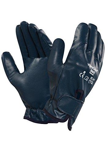Ansell Vibraguard 07-112 Guanto per Usi Speciali, Protezione Meccanica, Blu, Taglia 10 (Sacchetto di 1 Paio)