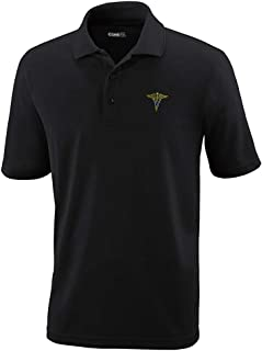 Custom Polo Performance Shirt Army Nurse Corps Officer Embroidery Design for Men