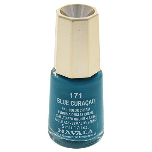 MAVALA Esmalte De Uñas - 5 Ml, 171: Blue Curaçao, Vanilla, 6 Unidad