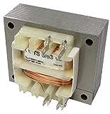 AERZETIX - Trasformatore di alimentazione elettrico universale 6VA - 230V AC - 12V - 0.5A - C44346