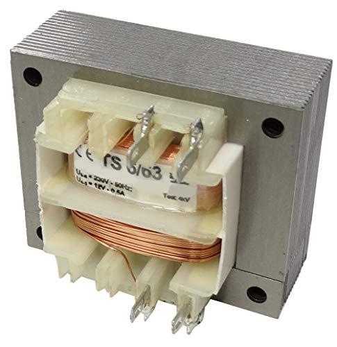AERZETIX - Transformador de alimentación eléctrico universal 6VA - 230V AC -...