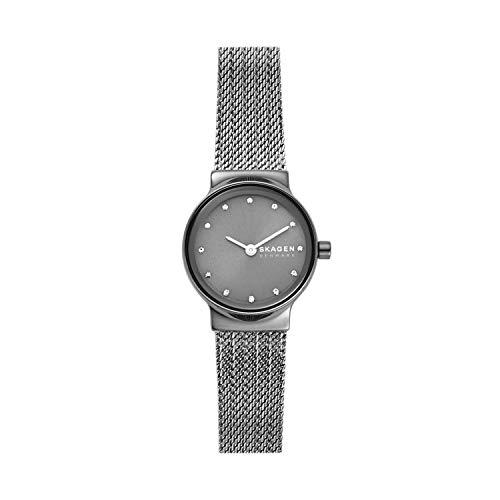 Skagen Damen Analog Quarz Uhr mit Edelstahl Armband SKW2700