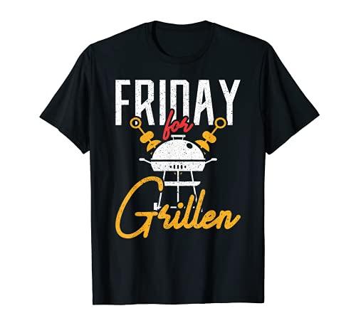 BARBACOA Friday for Grillen BBQ Camiseta