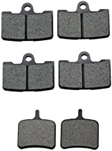 Volar Front & Rear Brake Pads for 2008-2010 Buell 1125R