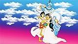 XHJY Película Aladdin Y El Rey De Los Ladrones Rompecabezas De para Adultos, Niños, Adolescentes, Niñas Y Niños, Regalos De Cumpleaños Populares-500 Piezas(52 x 38 cm)