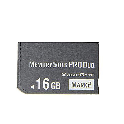LICHIFIT Memory Stick Pro Duo Clé USB pour Sony PSP 2000 3000 Noir 16 Go