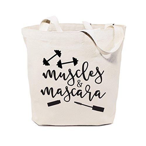 The Cotton & Canvas Co. Wiederverwendbare Schultertasche und Handtasche für Strand, Lebensmittel,...