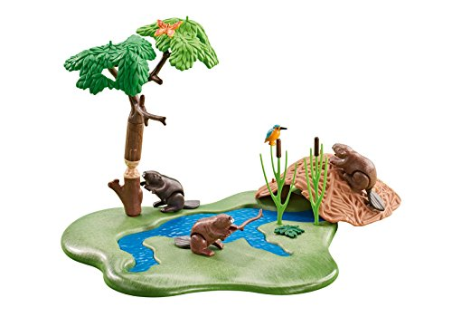 Playmobil 6541 - Biberbau am Fluss (Folienverpackung)