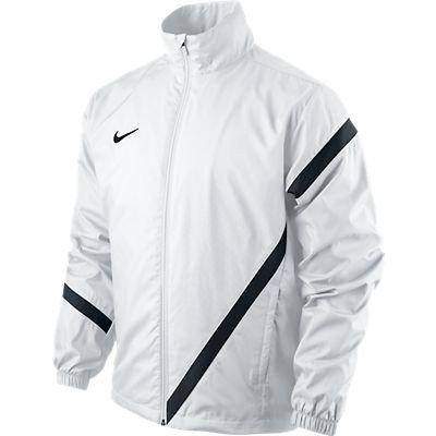 Nike Jacke Competition 12 Sideline WP Wz, Giacca Unisex, Bianco/Nero/Nero, XL