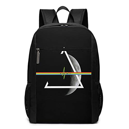Pin-k Floyd - Mochila para ordenador portátil, resistente al agua, grande, mochila universitaria para mujeres y hombres, mochila de negocios