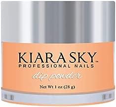 Kiara Sky Dip Powder. PEACH, PLEASE Long-Lasting and Lightweight Nail Dipping Powder. (1 Ounce)
