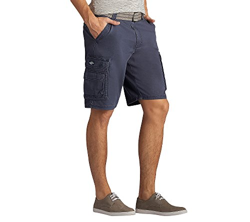 Lee Men s New Belted Wyoming Cargo Short, Sporting Blue, 38