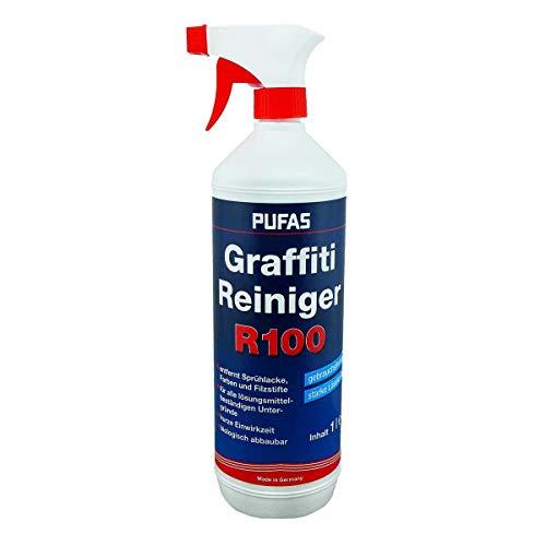 PUFAS 071205000 R100 Graffiti Reiniger, Sprühlack, Farben und Filzstift Entferner, farblos