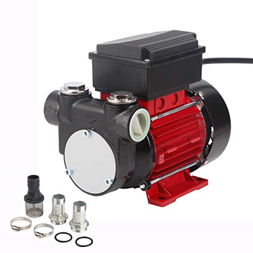 EXTRAUP 110V 15GPM Electric Self-priming Diesel Kerosene Oil Fuel Extractor Transfer Pump