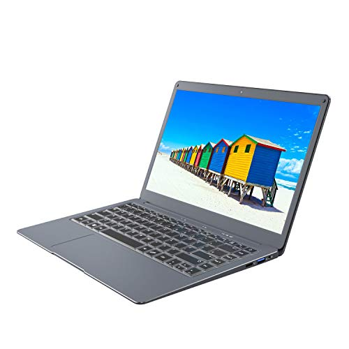 Jumper Laptop 13.3 inch Windows 10 Notebook Computer 6GB RAM 64GB large storage space, Intel 64 bit USB 3.0, dual-band WIFI, support 128GB smart card and SSD 1TB expansion