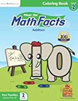 Meet the Math Facts Level 2 - Coloring Book 1935610562 Book Cover