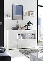 100% made in Italy Mobile moderno di design Dimensioni:130cm x 41cm x 82cm (Lunghezza x Profondità x Altezza).