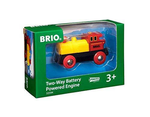 BRIO Bahn 33594 - Gelbe Batterielok