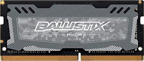 Crucial Ballistix Sport LT BLS8G4S240FSDK 2400 MHz, DDR4, DRAM, Memoria Gamer para ordenadores portátiles, 8 GB, CL16 (Gris)