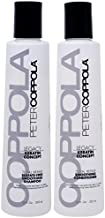 Peter Coppola Total Repair Shampoo & Conditioner, 12 oz 2 pack, Color-Safe, Sodium Chloride-Free Sulfate-Free Shampoo for Color Treated Hair and Smoothing Conditioner – Keratin Treatment Aftercare