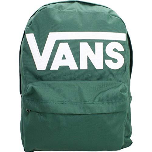 Vans Boy's OLD SKOOL III BACKPACK, PINE NEEDLE-WHITE, OS
