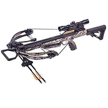 CenterPoint AXCM175CK Tactical Adjustable Stock Compound Crossbow One Size