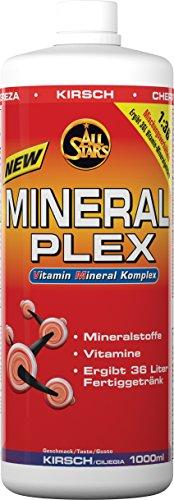 All Stars Mineral Plex, Kirsch, 1er Pack (1 x 1000 ml)