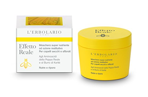 L 'erbolario effetto reale pacchetto capelli intensiva Nutriente, 1er Pack (1X 150ML)