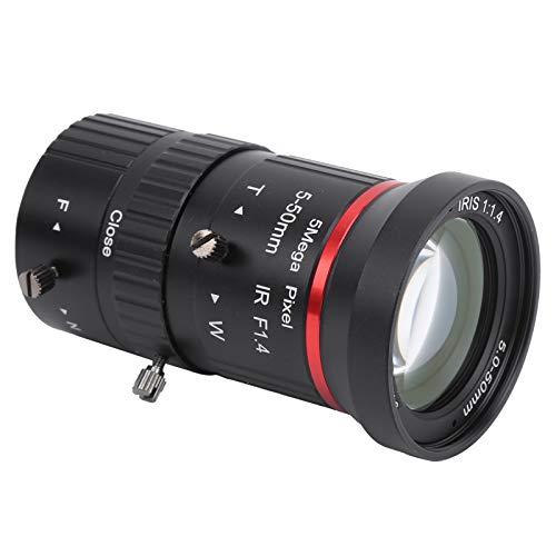 5MP-Kameraobjektiv, FL5‑50mm Zoom-Objektiv mit manueller Blende, CS-Mount-Kameraobjektiv, Überwachungskameraobjektiv