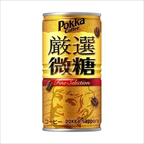 ポッカサッポロ ポッカコーヒー 厳選微糖 185g 1セット 60缶