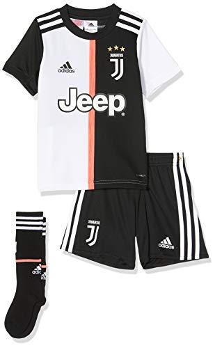 adidas Juventus Turin Mini Home Kids, Fußball-Trikot, Unisex, Kinder, Herren, DW5464, Mehrfarbig (schwarz/weiß), 104 (3/4 años)